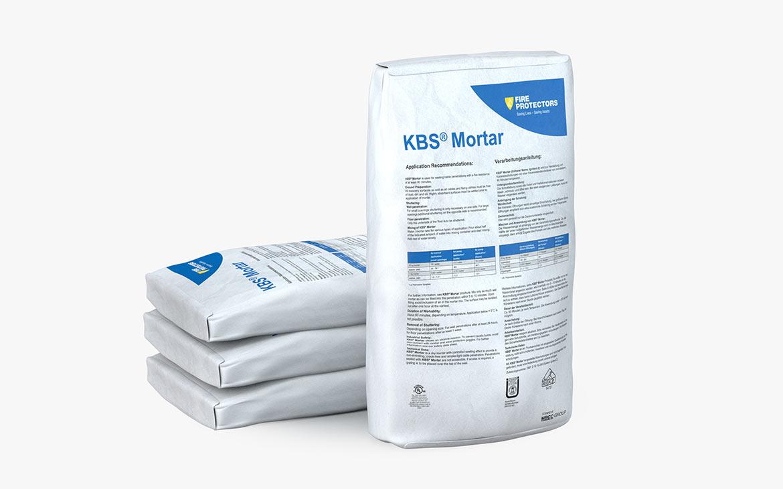 KBS® Mortar: 25 kg Ventilsack mit PE-Einlage