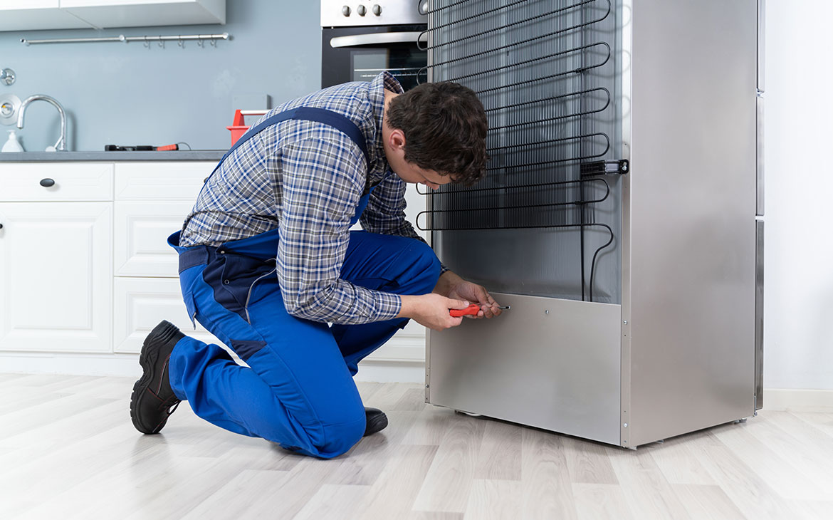 Fire protection in electrical appliances