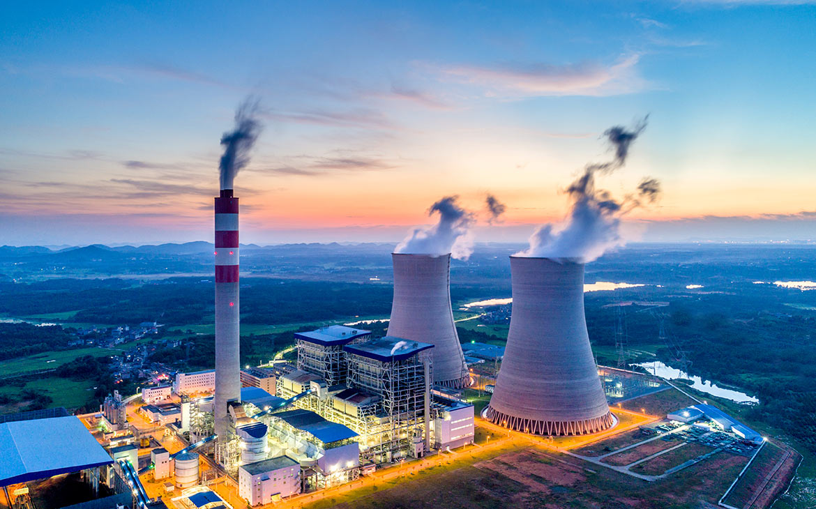 Power plants must be effectively protected against fires.