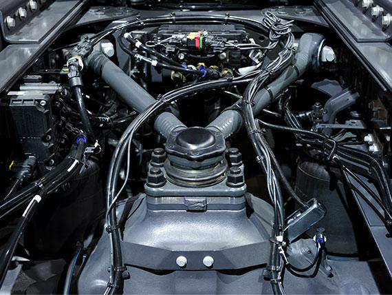 Intumeszenzsperre für heiße Abgasströme in Dieselmotoren